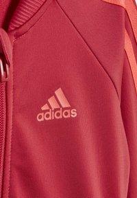 adidas Performance - STRIPES TRICOT TRACKSUIT - Survêtement - pink - 7