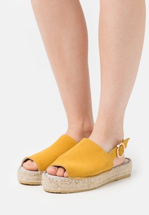 LENU - Espadrilles - yellow
