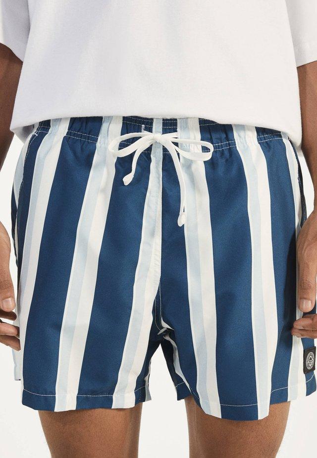 BADESHORTS MIT PRINT 04224305 - Swimming shorts - dark blue