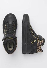 British Knights - ROCO - Sneakers hoog - black/rust leopard/gold/black - 1