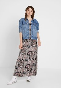 ONLY - ONLNOVA STRAP DRESS - Maxi dress - black - 1