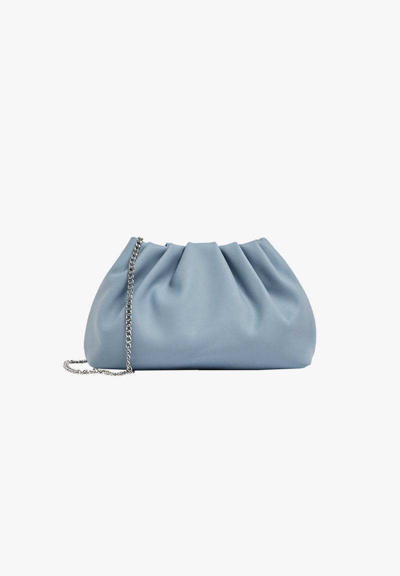 PULL&BEAR - MIT RAFFUNG - Across body bag - royal blue