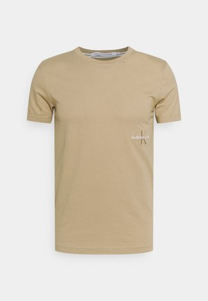OFF PLACED ICONIC TEE UNISEX - Printtipaita - grey