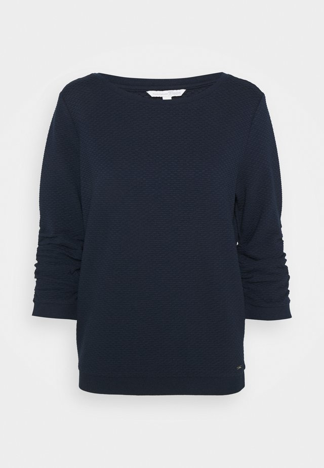 STRUCTURED - Sweater - sky captain blue