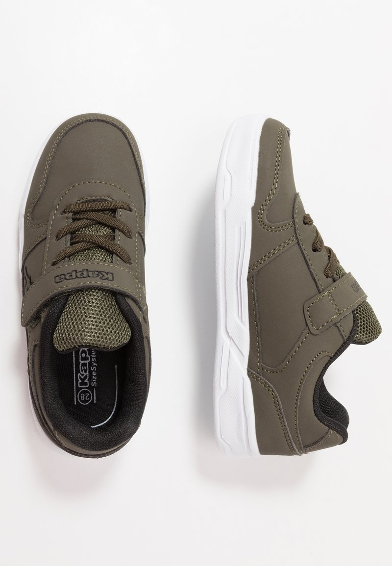 Kappa - DALTON ICE - Sports shoes - army/black