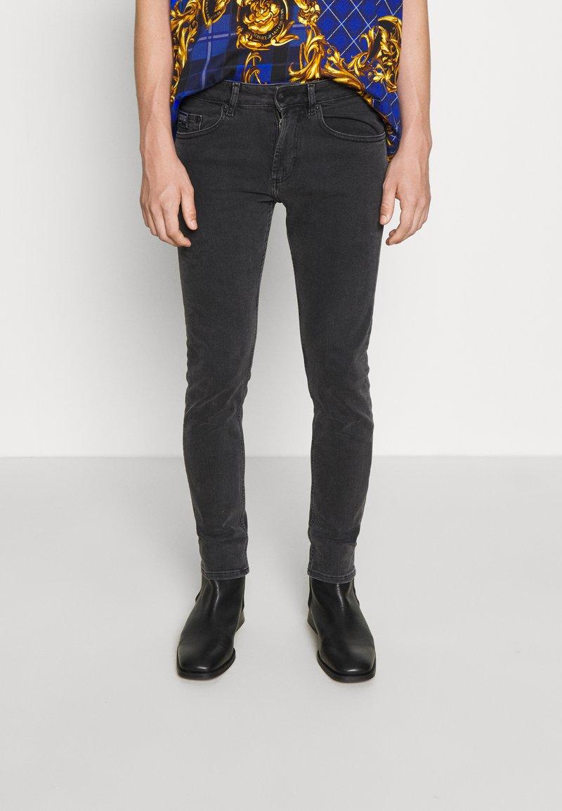 Versace Jeans Couture - MEDIUM WASH - Straight leg jeans - black
