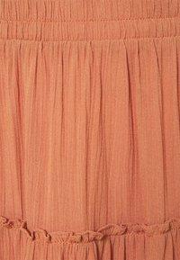 ICHI - MARRO - A-line skirt - sunburn - 2