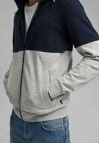 edc by Esprit - Zip-up sweatshirt - navy - 9