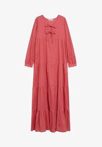 Mango - VIOLET - Maxi dress - erdbeerrot - 6