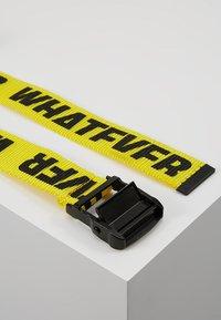 YOURTURN - Belt - yellow - 2