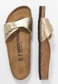 Birkenstock - MADRID - Pantofole - gold - 3