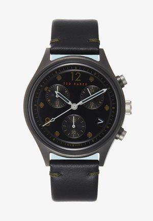 BELEENI - Chronograph watch - black/black