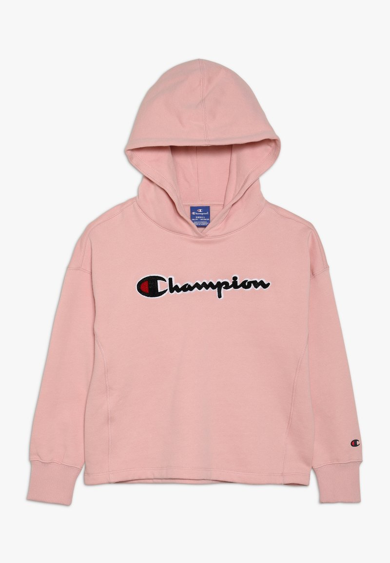 Champion - ROCHESTER CHAMPION LOGO HOODED - Hoodie - light pink