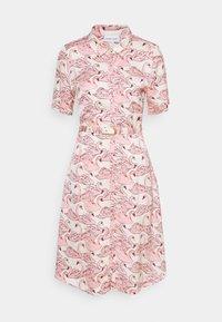 Fabienne Chapot - MILA DRESS - Shirt dress - white/pink - 4