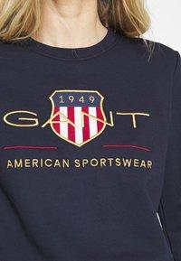 GANT - ARCHIVE SHIELD  - Sweatshirt - blue - 5