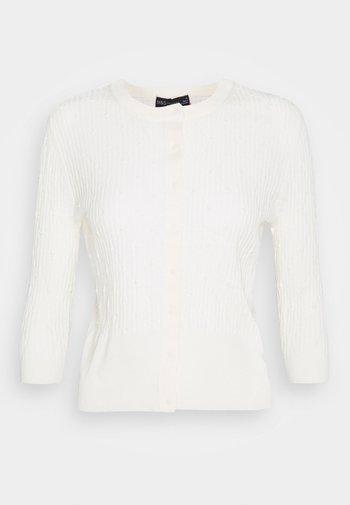 ARG STITCH  - Cardigan - off-white