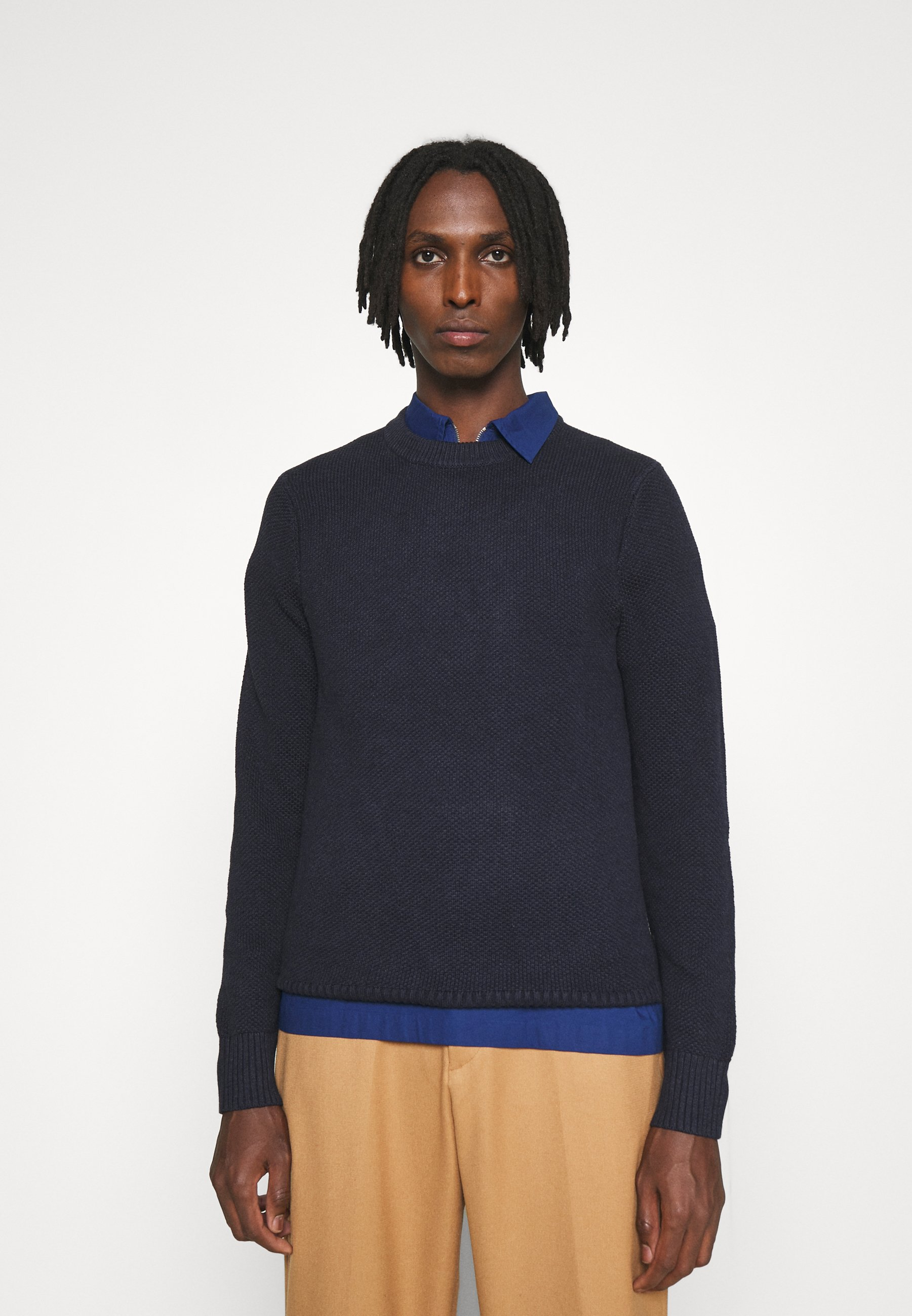 Homme OLIVER STRUCTURE SWEATER - Pullover