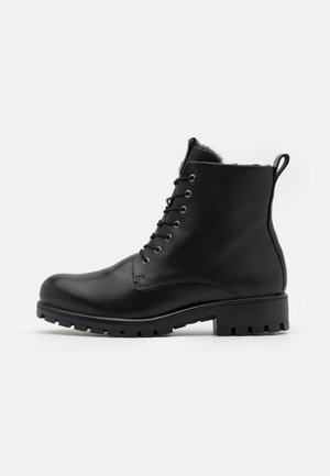 ECCO MODTRAY W - Lace-up ankle boots - black
