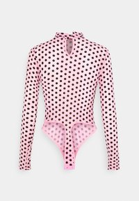 Missguided Petite - SPOT BODYSUIT - Blouse - baby pink - 6