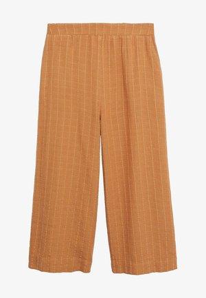 Spodnie materiałowe - marron moyen