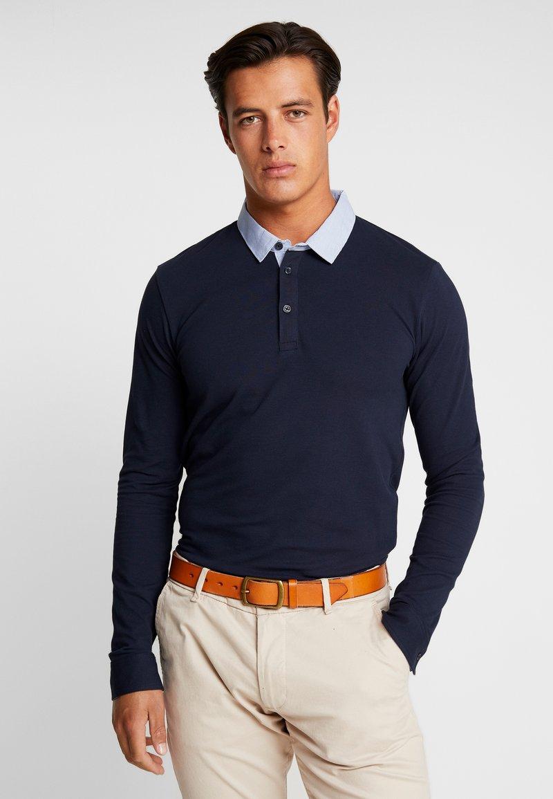 CELIO - NETED - Polo shirt - navy blue