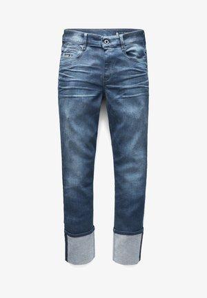 NOXER HIGH STRAIGHT  - Straight leg jeans - worn in gravel blue