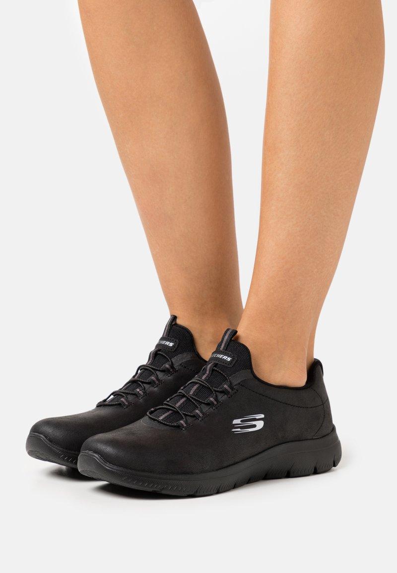 Skechers Sport - SUMMITS - Trainers - black