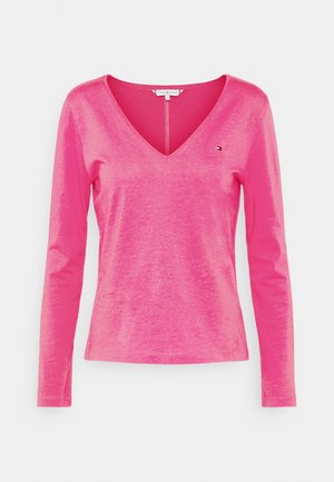REGULAR CLASSIC  - Long sleeved top - hot magenta