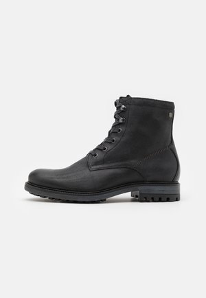 JFWBALLARD VINTAGE - Lace-up ankle boots - anthracite