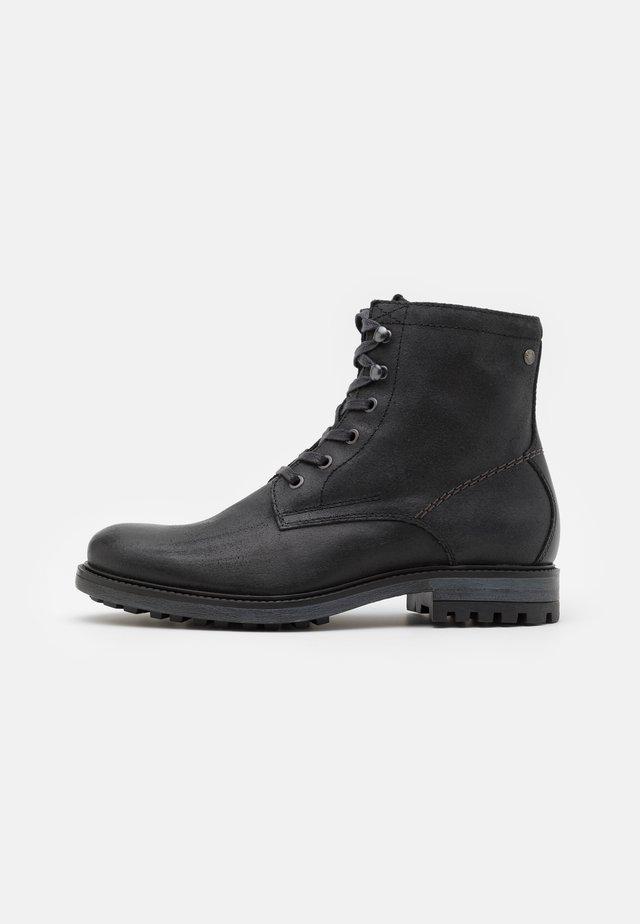 JFWBALLARD VINTAGE - Lace-up ankle boots - anthracite