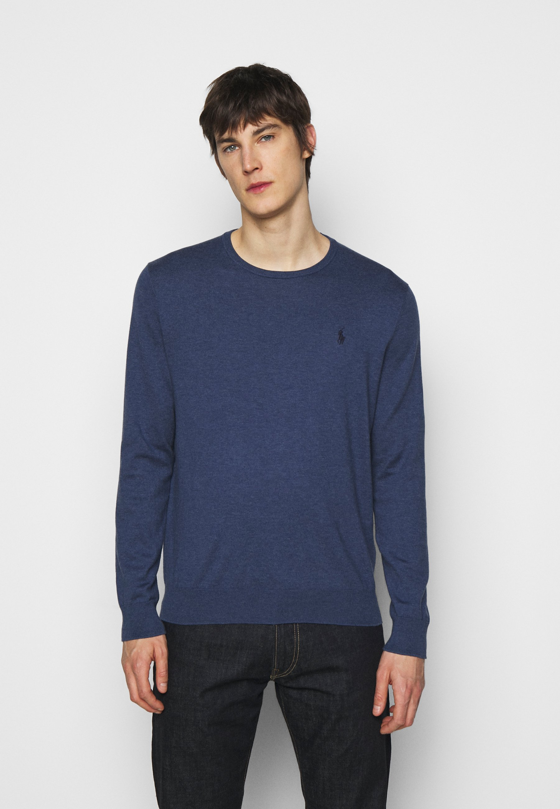 Homme SLIM FIT COTTON SWEATER - Pullover
