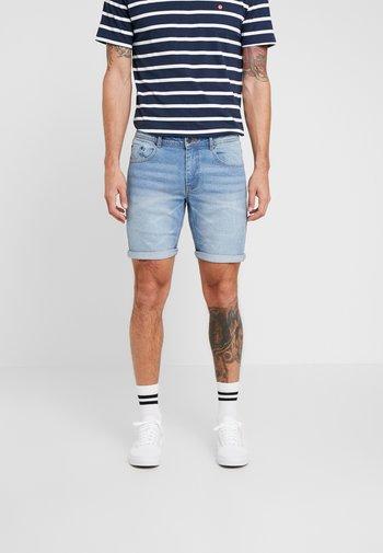 MR ORANGE - Jeansshorts - heavy worn indigo