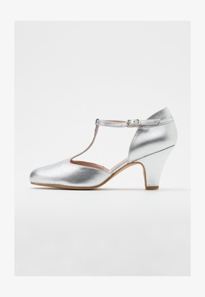Klassiske pumps - galaxy silver