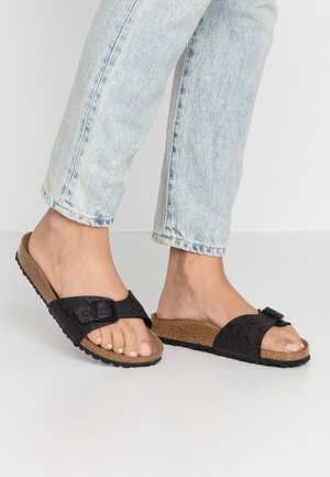 MADRID - Slippers - black