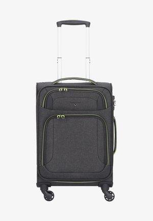 AIRSTREAM  - Wheeled suitcase - antracite/lemon