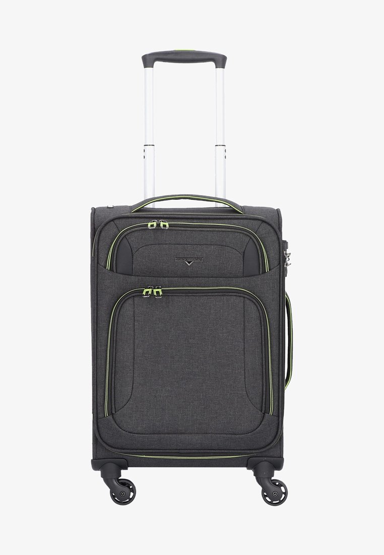 Hardware - AIRSTREAM  - Wheeled suitcase - antracite/lemon