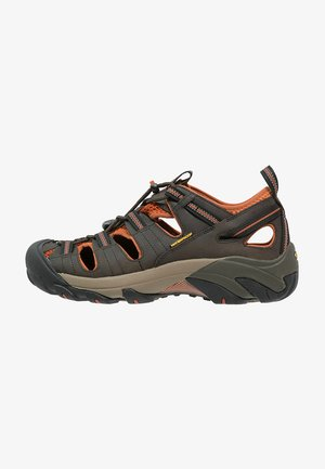 ARROYO II - Walking sandals - black olive/bombay brown
