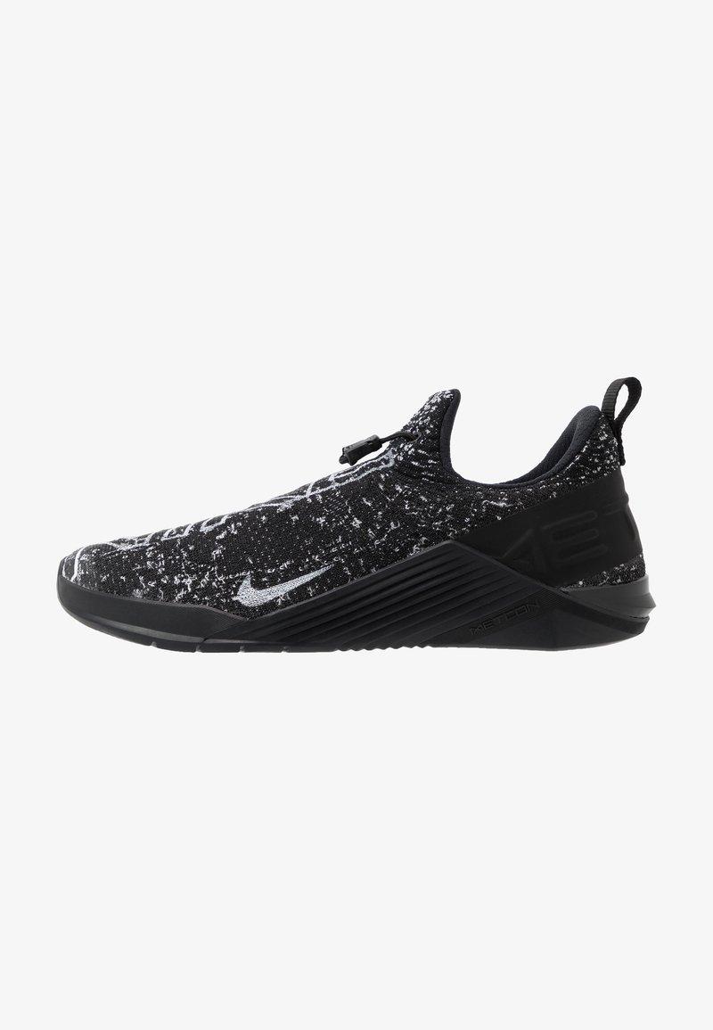 Nike Performance - REACT METCON UNISEX - Sports shoes - black/white