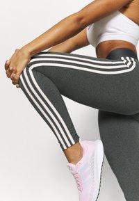 adidas Performance - Pantaloni sportivi - grey/pink - 3