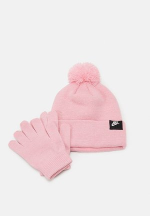 FUTURA BEANIE GLOVE SET - Gloves - pink