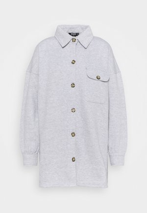 SOFT SHACKET - Summer jacket - grey marl