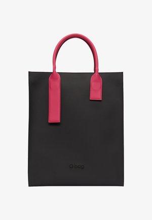 Tote bag - nero-rosso
