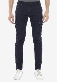 Cipo & Baxx - Slim fit jeans - blauw - 0