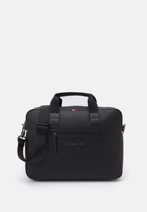 ESSENTIAL COMPUTER BAG UNISEX - Torba na laptopa - black