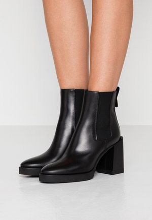GRETA BOOT  - High heeled ankle boots - onyx