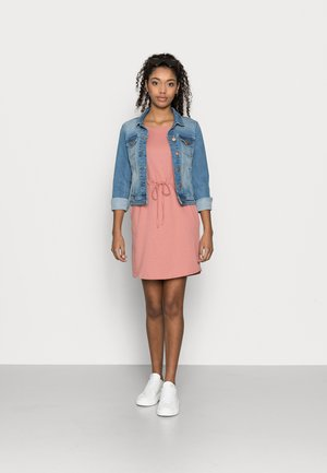 VMAPRIL SHORT DRESS 2 PACK - Jerseykjole - navy blazer/old rose