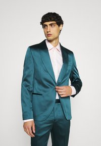 Twisted Tailor - DRACO SUIT - Kostym - bottle green - 2
