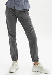 Cream - Slim fit jeans - eiffel tower - 0