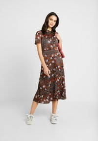 Vero Moda - VMISABEL DRESS - Maxi dress - tortoise shell/isabel - 2