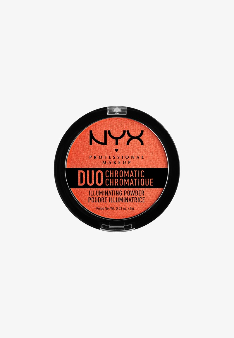 Nyx Professional Makeup - DUO CHROMATIC ILLUMINATING POWDER - Highlighter - 5 synthetica